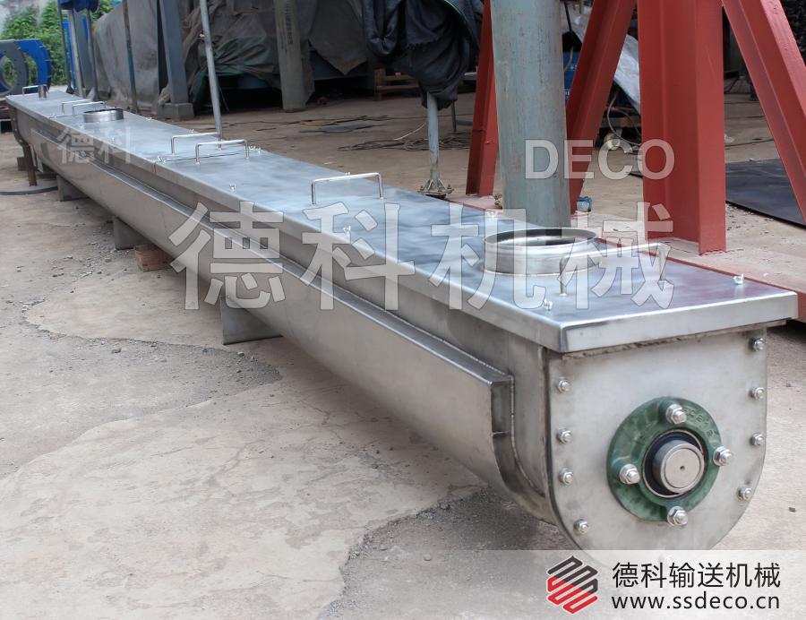水冷螺旋输送机,LS螺旋输送机水冷套降温输送机